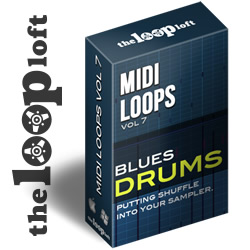 Blues Drums - MIDI Drum Loops