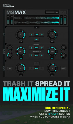 MSMAX - Maximizer Effect Plugin