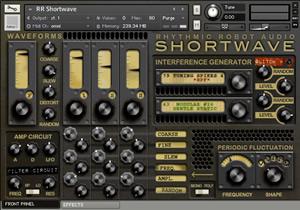 Shortwave - NI Kontakt Sample Library