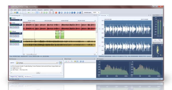 Acoustica 6 - Multitrack Editing and Audio Restoration Tools