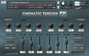 Cinematic Tension FX NI Kontakt Library