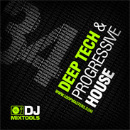 Dj Mixtools 34 Deep Progressive and Tech House