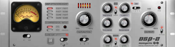 DSP-2 Vocal VST Effect Plugin for Windows by MaxSynths