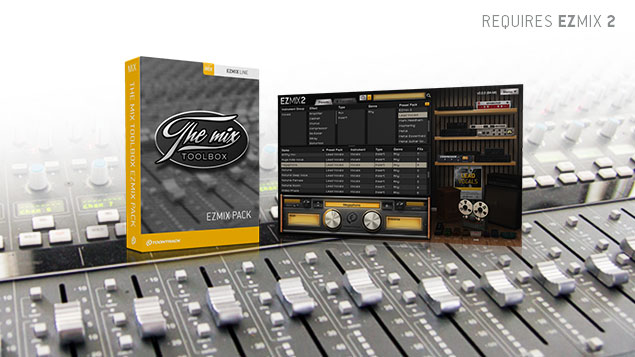 Download The Mix Toolbox EZmix Presets Pack by Toontrack