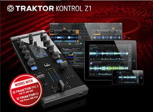 Traktor Kontrol Z1 Audio Mixer