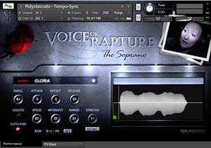 Voice Of Rapture - The Soprano NI Kontakt Vocals
