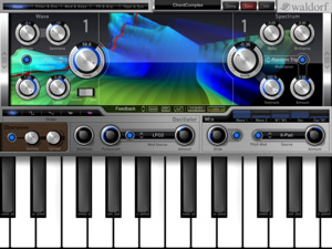 Synth Application for iPad
