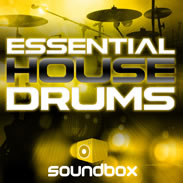 Essential House Drums Sample Pack