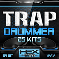 Trap Drummer 25 Kits Loops
