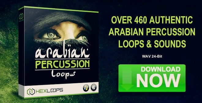 Arabian Percussion Sample Pack