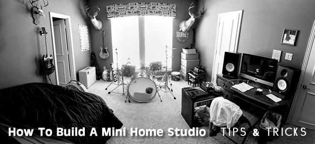 How To Build A Mini Home Studio