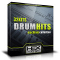 Giveaway: 32 Kits Drum Hits Sample Pack by Hex Loops