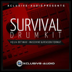 Xclusive-Audio Survival Drum Kit Samples