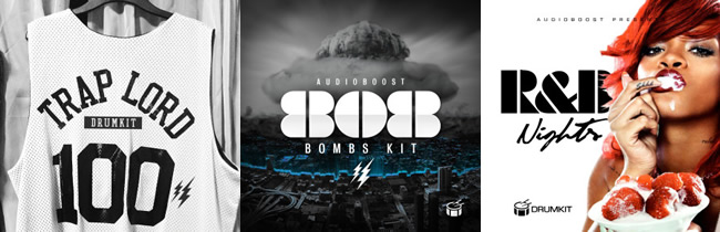 Audio Boost Drum Kits Packs