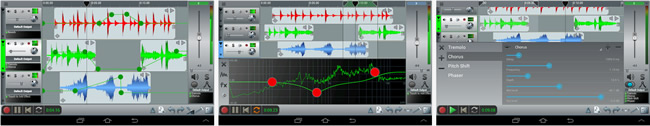 n-Track Studio Android Application