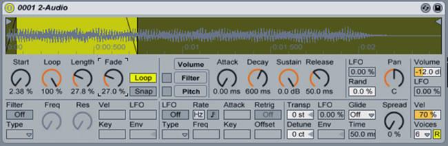 Ableton frequencies tutorials