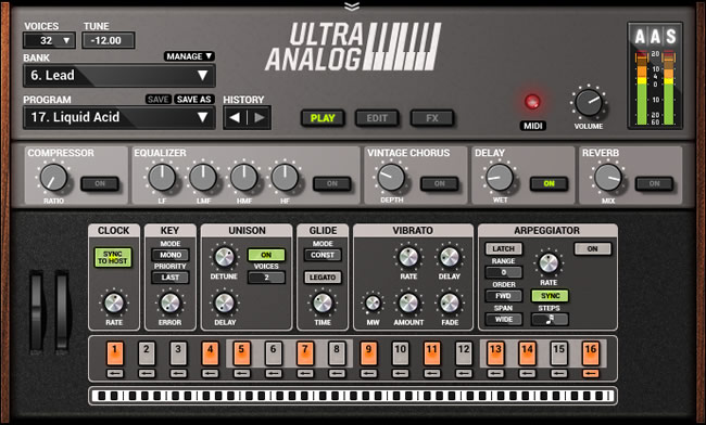 Ultra Analog VA-2 VST Plugin