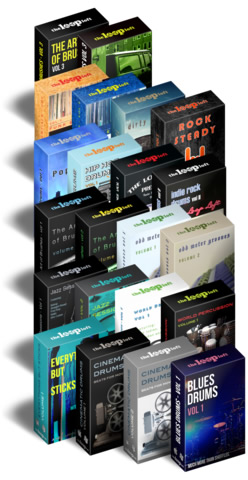 The Platinum Pack - Premium Drums Samples