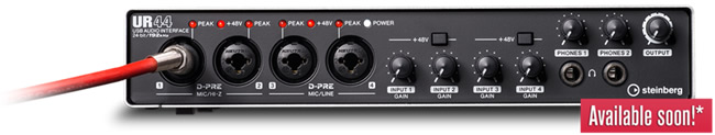 UR44 Audio Interface