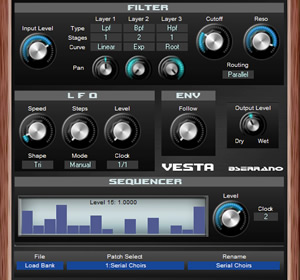 Vesta Free Filter Effect VST Plugin