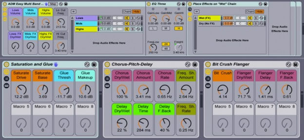 Download Easy Multi Band FX - Free Ableton Live Pack by AfroDJMac