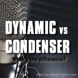 condenser microphones vs dynamic microphones differences. Black Bedroom Furniture Sets. Home Design Ideas