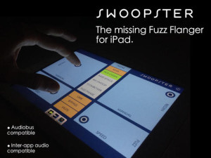 Swoopster Music Application for iPad and iOS