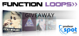 New Year Giveaway – 3 Sample Packs by Function Loops