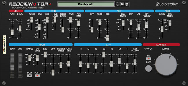 Reason Polyphonic synthesizer Rack Extension