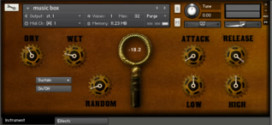Victorian Music Box – Free Kontakt Library By FrozenPlain