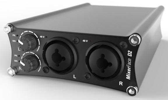 MixerFace - Mobile Recording Interface