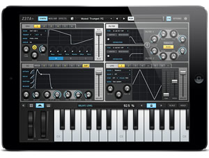 Cakewalk Z3TA+ iOS Synthesizer for iPad by