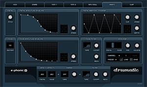 Drumatic 3 virtual drum synthesizer