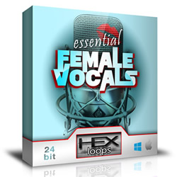 Essential Female Vocals Sample and Loops