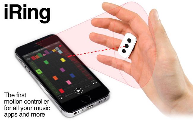iRing Motion Controller app for iOS IK Multimedia