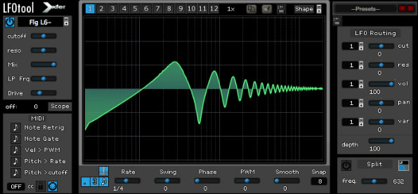Download LFO Tool - FX VST AU Utility Plugin by Xfer Records