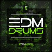 download edm drums sample pack released by zenhiser. Black Bedroom Furniture Sets. Home Design Ideas