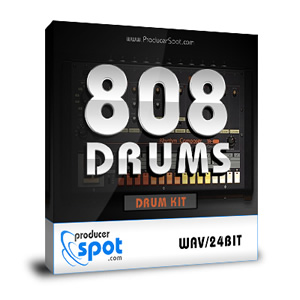 Free Download: 808 Drum Samples Kit by ProducerSpot