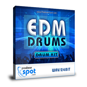 Free: EDM Drums - Drum Samples Kit by ProducerSpot