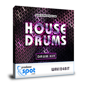 Free House Drum Kit - Drum Samples by Producer Spot