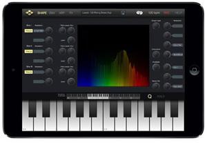 MicroTera iPad Synth App