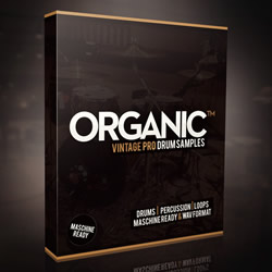 Organic Drum Kit Vintage Samples