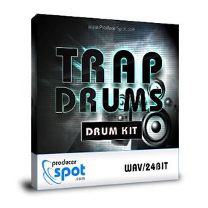 Free: Trap Drum Sample Pack - 24 Bit Quality
