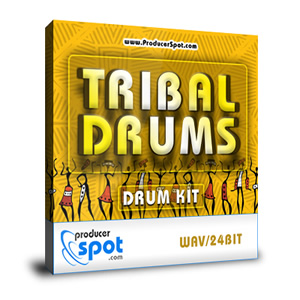 Free Tribal Drum Kit