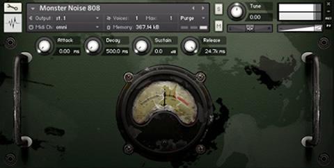 808 Kontakt Drum Kit Library