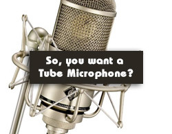 Tube Microphones – Buyer's Guide by Alan Steward