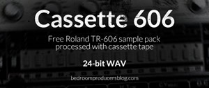 Free Roland TR-606 Sample Pack