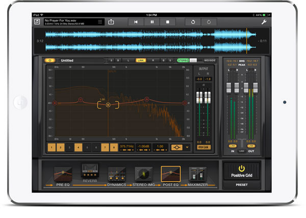 Final Touch - Complete Mastering App for iPad