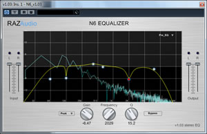 N6 Free Equalizer VST Plugin
