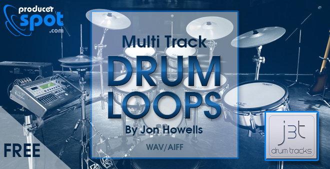FREE Download: Multi-Track Drum Loops by J3T Drum Tracks